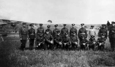 Ontario Regiment at Uxbridge Camp, 1924