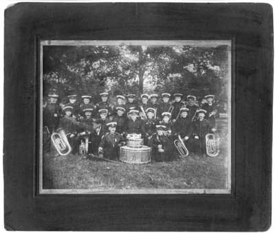 34th Regiment Band at Niagara-on-the-Lake Camp, c.1914