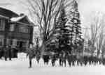 Children and Boy Scouts Marching Along Dundas Street, 1916