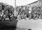 116th Battalion Soldiers Marching south on Brock Street, 1916