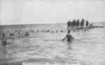 Soldiers of the 182nd Battalion Bathing at Heydenshore Park, 1916