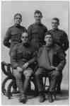 Group of Five Wounded Soldiers, c.1917
