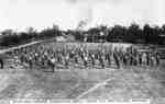 Morning Parade, Swedish Drill, 182nd O.S. Battalion, Whitby