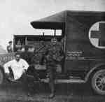 Ambulance donated by Samuel Trees & Company to the War Effort, 1915
