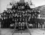 Crew of H.M.C.S. Whitby at St. John's Newfoundland, July 1945