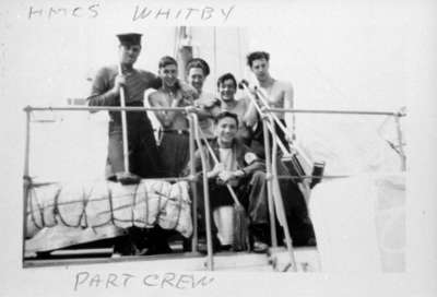 Crew Members of H.M.C.S. Whitby, 1944