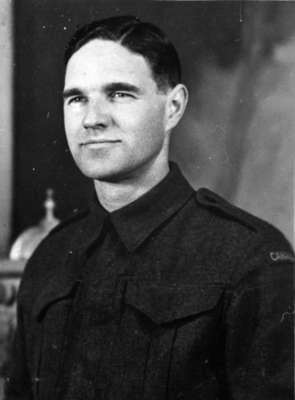 Portrait Photograph of Evans Gerow Michael, c.1944
