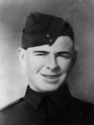 Portrait Photograph of Harold Francis Bratley, c.1944