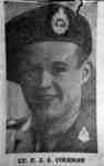 Portrait Photograph of Lieutenant Frederick John Arthur Coleman, c.1943