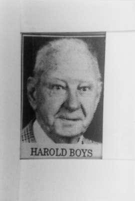 Harold Boys