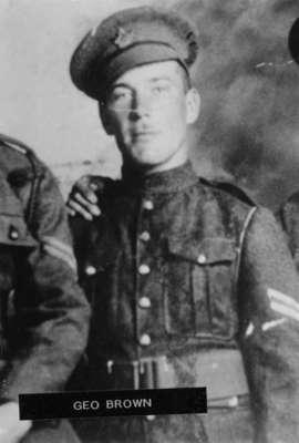 Portrait Photo of George Brown