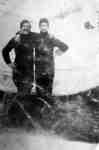 Portrait Photo of Two Unidentified Men
