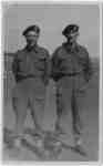 Portrait Photographic Postcard of Alex Brown and Thomas Donohue