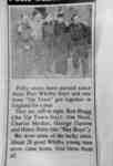 Photo of Newspaper Clipping about Port Whitby Boys