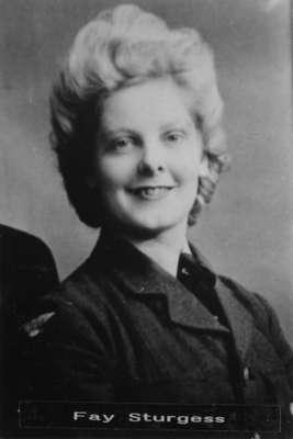 Photograph of Fay Sturgess