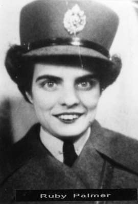 Photograph of Ruby Palmer