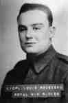Portrait Photograph of Lieutenant Corporal Louis Rousseau