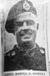Photograph of a Newspaper Photo of Lieut. Harold D. Rowley
