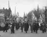 Legion Drumhead Service Parade, 1937