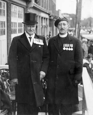 Dr. Herbert A. Bruce and Rev. E. Ralph Adye, 1937