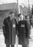 Lt. Col. John I. McLaren and Rev. E. Ralph Adye, 1937