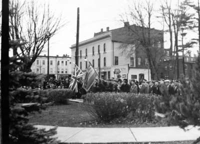 Armistice Service at Cenotaph, November 1939