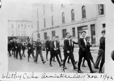 Remembrance Day Parade, November 1942