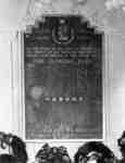 Cenotaph Plaque, 1948