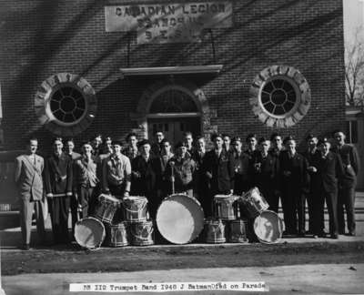 Trumpet Band - Royal Canadian Legion, Whitby Branch, 1948