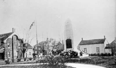 Whitby Cenotaph, c.1924