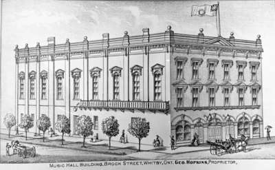 Hopkins' Music Hall, 1877