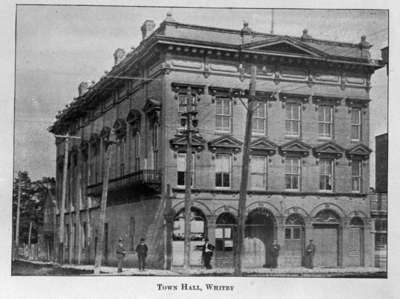 Whitby Town Hall, 1904