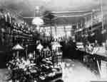 Interior of George M. Rice's Hardware Store, c.1915