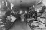 Interior of W. G. Walters' Clothing Store, c.1913.