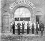 Office of the Whitby Chronicle, c.1862