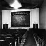 Interior of the Brock Theatre