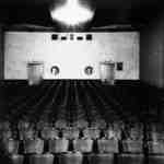 Interior of the Brock Theatre, 1938