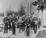 Whitby Brass Band, c.1895