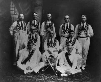 Members of the Eastern Star Lodge No. 72, I.O.O.F., c.1906