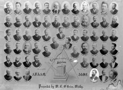 Members of Composite Lodge No. 30 A.F. & A.M., 1892