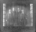 Whitby Male Quartet, c.1900