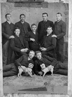 Whitby Young Men's Club, 1885