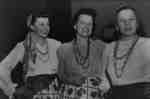 """Women dressed as Gypsies for Whitby Modern Players Theatrical Production """"Varieties of 1948"""", 1948"""