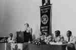 Ontario Premier William Davis at Whitby Rotary Club, August 1980