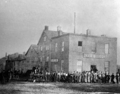 King Brothers' Tannery, c.1883