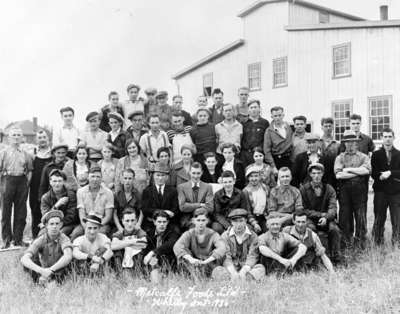 Employees of Metcalfe Foods Ltd., 1936