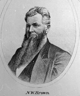 Nicholas Wood Brown, 1877