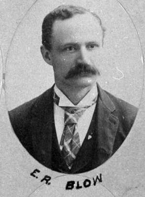 Ezekiel Richard Blow, 1892