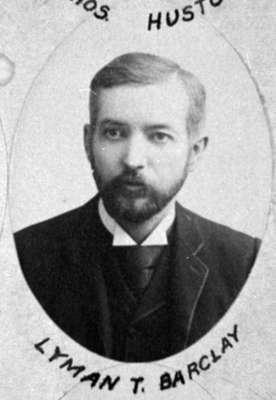 Lyman Theophilus Barclay, 1892