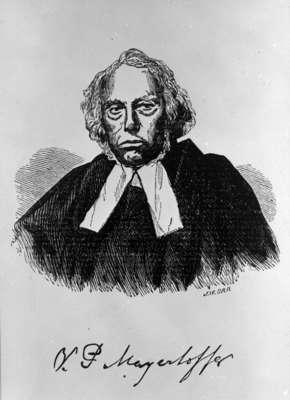 Reverend Vincent Philip Mayerhoffer, c. 1859